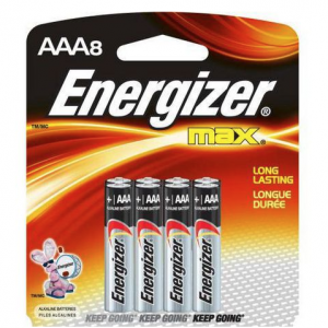 Batteries AAA – 8 pack