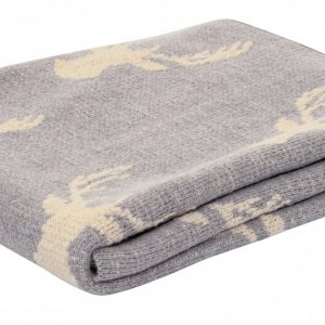 Deer Print Reading Blanket