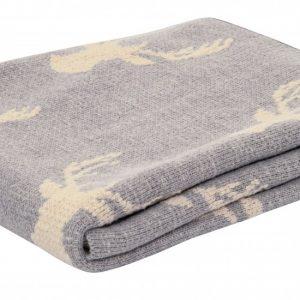 Deer Print Reading Blanket