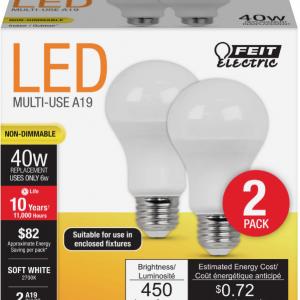 Light Bulbs (2 pack)