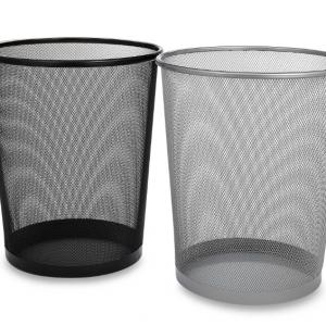 Mesh Metal Waste Basket