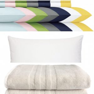 Extra Sheets, Pillows & Towels