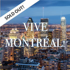 ISGC MONTREAL TRIP: $1050.00 CAD: Includes accommodation, 1-2 mandatory activities per day, two family-style meals per day. Select additional free-time activities below.